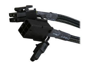 """APEVIA CVTPCI68 9"""" 6-Pin to 8-Pin PCI Express Converter Cable"""