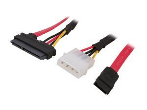 "KINGWIN SAC-04 15.74"" SATA Data & Power combo cable"