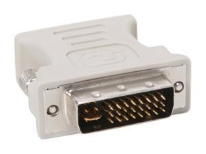 KINGWIN ADP-01 DVI-I MALE (24 + 5 pin) to VGA HD 15 Female Adapter