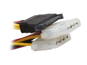 "KINGWIN Model SAC-05 8"" SATA Power Adapter Cable"