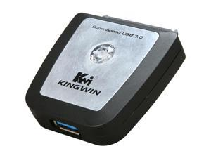 "KINGWIN USI-2535U3 USB 3.0 to SATA Adapter For 2.5"" & 3.5"" SATA H.D.D."
