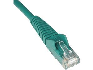 Tripp Lite 20-ft. Cat5e 350MHz Snagless Molded Cable (RJ45 M/M) - Green