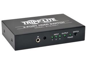 Tripp Lite B119-003-1 3-Port Black HDMI Video Switch 3 to 1 w/ IR Remote 1080p Resolution