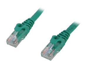BYTECC C6EB-1G 1 ft. Cat 6 Green Enhanced 550MHz Patch Cables