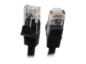 BYTECC C6EB-75K 75 ft. Cat 6 Black Color Enhanced 550MHz Patch Cables