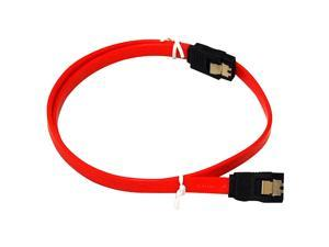 "BYTECC SATA-118C 18"" Serial ATA-150/300 Cable w/Locking Latch"