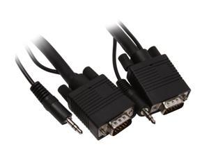BYTECC SVST-25 25 ft. SVGA w/3.5mm Stereo male to male Cable