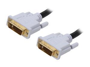 BYTECC DVI-D06 6 Feet Male to Male DVI-D Dual-Link Digital Cable w/Ferrites