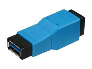 BYTECC U3-ABFF USB 3.0 Type A Female to Type B Female Adapter