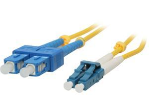 BYTECC SD-LS5 5m SD-LS LC to SC Duplex (2 Strand) Cable, Single Mode 9/125 Standard Zipcore - OEM