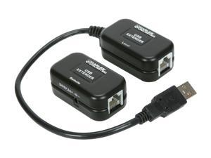 CABLES UNLIMITED USB-1375 60M USB Over Cat5e Extender with Power Supply