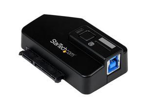 StarTech.com SuperSpeed USB 3.0 to SATA III Adapter - USB 3 to SATA 3 Converter Adapter for 2.5in or 3.5in HDD and SSD Drives ...