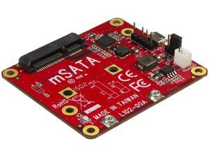 USB to mSATA Converter for Raspberry Pi and Development Boards - USB to mini SATA Adapter for Raspberry Pi