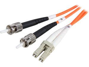 Coboc CY-OM1-LC/ST-5 16.4 ft. Orange Multimode 62.5/125 Duplex LSZH Fiber Patch Cable LC - ST,M-M