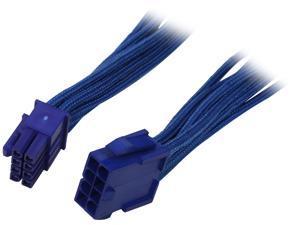 """BitFenix BFA-MSC-8EPS45BB-RP 17.72"""" (45cm) Intel EPS 8-pin Extension Cable M-F"""