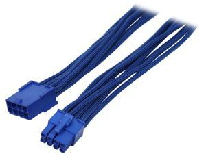 "BitFenix BFA-MSC-8PEG45BB-RP 17.72"" (45cm) 8-pin Video Card Extension Cable"