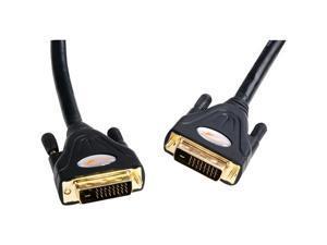 Atlona Model ATD-14010-2 Black 6.56 ft Connector on First End:1 x DVI-D Male Digital VideoConnector on Second End:1 x DVI-D ...