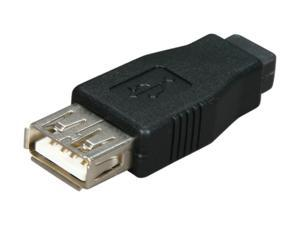 Kaybles AD-USB-AF-MINIBF USB A Female to Mini USB B (5pin) Female Adapter Black