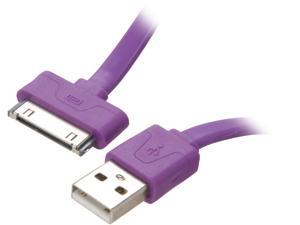 Candywirez CW-FC814 USB 2.0 Sync/Charge Cable for iPod/ iPhone/ iPad