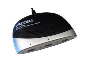 Accell K088B-001B DisplayPort to DisplayPort Multi-Monitor Adapter