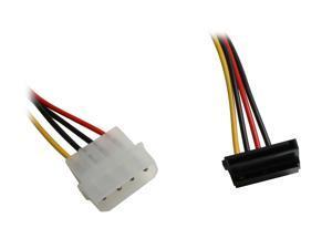 "1ST PC CORP. CB-SATAR2 8""+4"" SATA power cable"