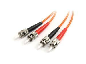 StarTech.com 2m Multimode 62.5/125 Duplex Fiber Patch Cable ST - ST
