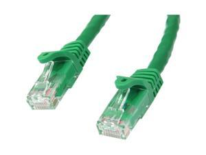 StarTech N6PATCH5GN 5 ft Cat 6 Green Gigabit Snagless RJ45 UTP Cat6 Patch Cable