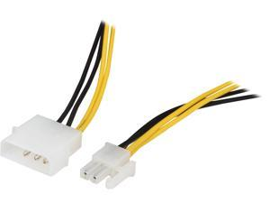 "VCOM VC-POW4EXT 12"" 4-Pin to 4-Pin Power Adapter Cable"