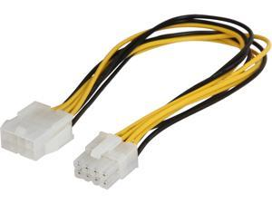 "VCOM VC-POW8EXT 12"" 8-Pin to 8-Pin Power Supply Extension Cable"