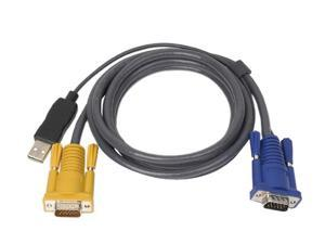 ATEN 6 ft. PS/2 to USB Intelligent KVM Cable 2L5202UP