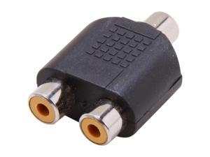 Nippon Labs RCA-1F2F RCA adaptor RCA 1 Female to 2 RCA Female