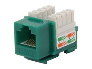 BYTECC RJ45PD-G Cat. 6 Punch Down Keystone Jack - Green