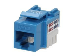 BYTECC RJ45PD-B Cat. 6 Punch Down Keystone Jack - Blue