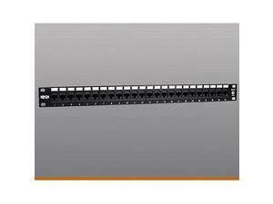 Tripp Lite 24-Port 1U Rackmount Cat5e 110 Patch Panel, 568B, RJ45 Ethernet (N052-024)