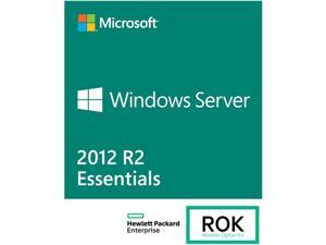HPE ROK License - MS Windows Server 2012 R2 Essentials - 64 bit