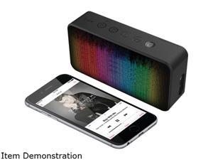 iLuv Aud Mini 6 Party (Color Changing LED Equalizer Portable Bluetooth Speaker) for Apple iPhone and Samsung