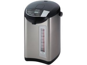 Tiger PDU-A50U-K Electric Water Boiler and Warmer, Stainless Black, 5.0-Liter Made in Japan