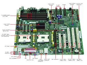 Intel SE7505VB2 SSI EEB 3.0 Server Motherboard