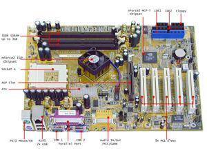 Leadtek K7NCR18G-PRO ATX AMD Motherboard