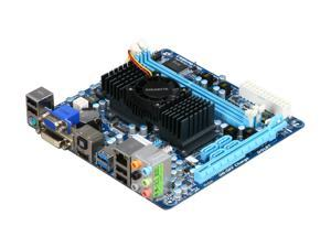 GIGABYTE GA-E350N-USB3 AMD E-350 APU (1.6GHz, Dual-Core) Mini ITX Motherboard/CPU Combo