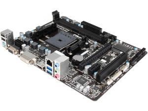 GIGABYTE GA-F2A75M-HD2 (rev. 3.0) FM2+ AMD A75 (Hudson D3) SATA 6Gb/s USB 3.0 HDMI Micro ATX AMD Motherboard