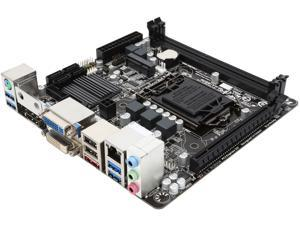 GIGABYTE GA-Q87N LGA 1150 Intel Q87 SATA 6Gb/s USB 3.0 Mini ITX Intel Motherboard
