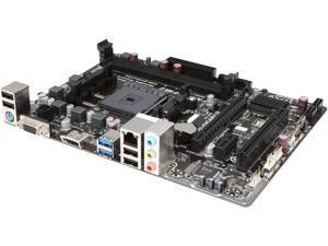 GIGABYTE GA-F2A68HM-H FM2+ AMD A68H SATA 6Gb/s USB 3.0 HDMI Micro ATX AMD Motherboard