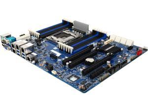 GIGABYTE MU70-SU0 ATX Server Motherboard 1 x LGA 2011-3  Mounting pitch: narrow ILM (56 x 94 mm)  Recommended cooling device dimension: 70 x 106 mm  Max. length of M4 screw threads: 3.7 mm  Screws lon