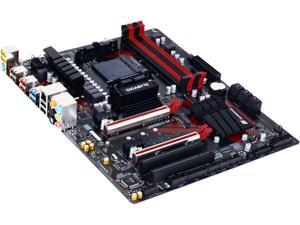 GIGABYTE GA-970-Gaming SLI (rev. 1.0) AM3+/AM3 AMD 970 SATA 6Gb/s USB 3.1 USB 3.0 ATX AMD Motherboard