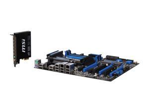 MSI Big Bang Trinergy ATX Intel Motherboard