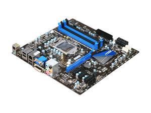 MSI H67MS-E43 LGA 1155 Intel H67 HDMI SATA 6Gb/s Micro ATX Intel Motherboard