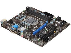 MSI H61M-E23 (B3) Micro ATX Intel Motherboard