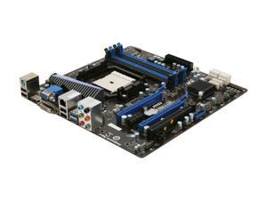 MSI A75MA-G55 Micro ATX AMD Motherboard