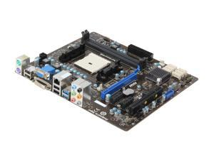 MSI A75MA-P35 Micro ATX AMD Motherboard with UEFI BIOS